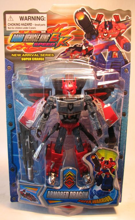 Bomb Vehicle King - Armored Dragon Transforming Bot China, Bomb Vehicle King, Action Figures, 2010, scifi, movie