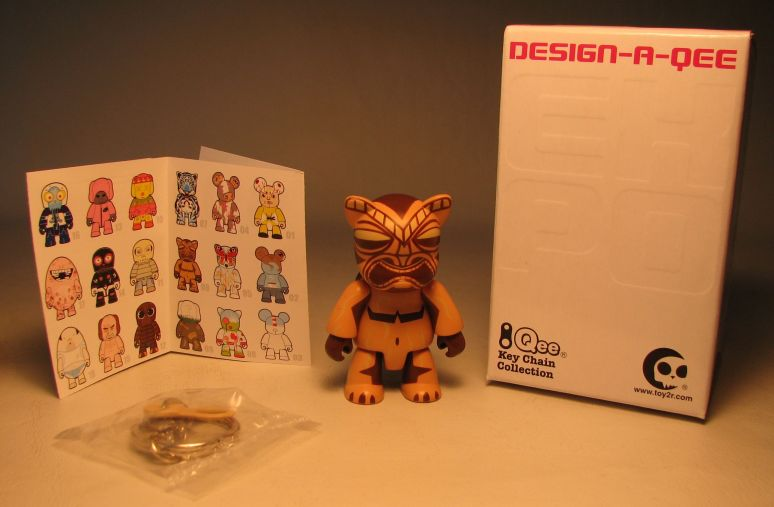 Design-a-Qee 2.5 inch Series 1  Tiki Qee Toy2R, Qee, Action Figures, 2005, collectible