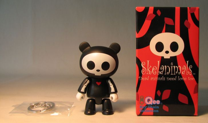 Skelanimals 2.5 inch Series 1 Qee Chungkee Original