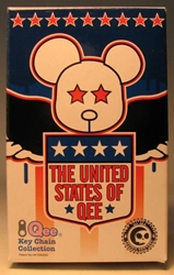 United States of Qee 2.5 inch Qeester in blind box Toy2R, Qee, Action Figures, 2005, collectible