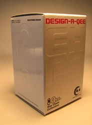 Design-a-Qee 2.5 inch Series 1 Qee in blind box Toy2R, Qee, Action Figures, 2005, collectible