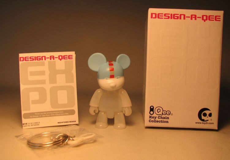 Design-a-Qee 2.5 inch Series 1  Milky Bear