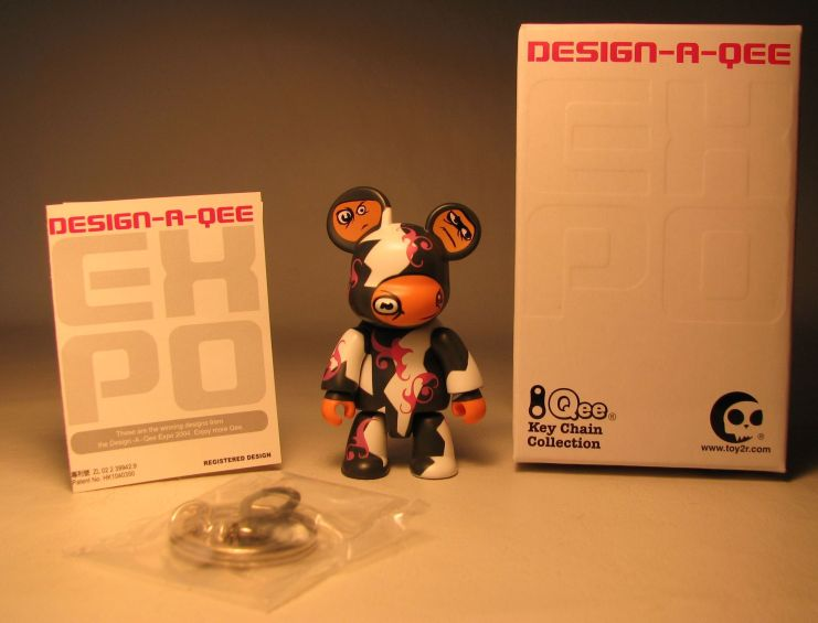 Design-a-Qee 2.5 inch Series 1  Gang Toy2R, Qee, Action Figures, 2005, collectible