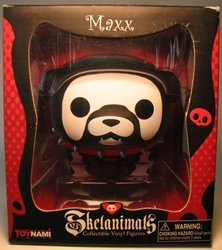 Skelanimals Maxx 4 inch Vinyl Figure Toynami 2009 Toynami, Skelanimals, Action Figures, 2009, cute animals, art