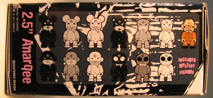 Kozik 2.5 inch  AnarQee in blind box - 1634-5339CCCGUF