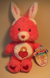 Care Bears 8 inch plush Happy Easter Secret Bear Play Along, Care Bears, Plush, 2004, animated, cartoon
