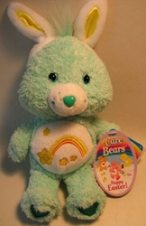 Care Bears 8 inch plush Happy Easter Wish Bear Play Along, Care Bears, Plush, 2004, animated, cartoon