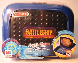 Battleship Game in travel case