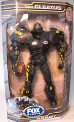 Fox Sports 10 inch Robot NCAA Missouri Tigers Foam Fanatics, Fox Sports, Action Figures, 2011, sports, pro league