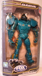 Fox Sports 10 inch Robot for NFL Jacksonville Jaguars Foam Fanatics, Fox Sports, Action Figures, 2009, sports, pro league