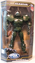 Fox Sports 10 inch Robot for NFL New York Jets Foam Fanatics, Fox Sports, Action Figures, 2009, sports, pro league
