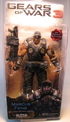 Gears of War 3 NECA 7 inch Marcus Fenix  NECA, Gears of War, Action Figures, 2011, scifi, video game
