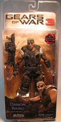 Gears of War 3 NECA 7 inch Damon Baird  NECA, Gears of War, Action Figures, 2011, scifi, video game