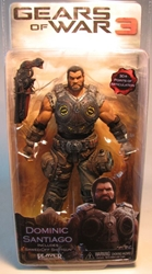 Gears of War 3 NECA 7 inch Dominic Santiago NECA, Gears of War, Action Figures, 2011, scifi, video game