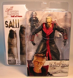 NECA Cult Classics SAW 7 inch Jigsaw Killer (man head) NECA, SAW, Action Figures, 2007, horror, halloween, movie
