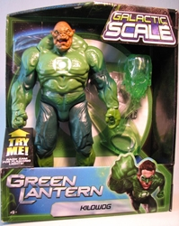 Green Lantern 10 inch Light-up Kilowog  Mattel, Green Lantern, Action Figures, 2011, scifi, movie