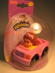 Fisher-Price Little People Wheelies (brunette) Fisher-Price, Little People, Action Figures, 2011, kidfare