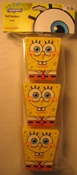SpongeBob SquarePants Treat Boxes (pack of 3) Nickleodeon, Sponge Bob, Action Figures, 2011, animated, tv show
