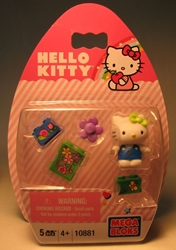 Mega Bloks 10881 Hello Kitty 1.2 inch fig (navy  top ) Mega Bloks, Hello Kitty, Legos & Mega Bloks, 2012, animated, japan