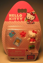Mega Bloks 10884 Hello Kitty 1.2 inch fig (red top ) Mega Bloks, Hello Kitty, Legos & Mega Bloks, 2012, animated, japan