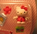 Mega Bloks 10884 Hello Kitty 1.2 inch fig (red top ) - 1805-5464CCCVUU