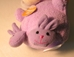 Easter Plush 5 inch Lavender Monkey with Slippers NM - 1815-854CCCCFV