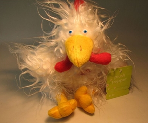 Plush 12 inch Rooster (white) Target, Easter, Plush, 2005, easter, holiday