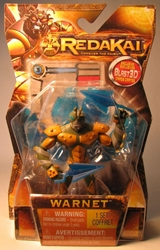 Redakai 4 inch figure Warnet Spin Master, Redakai, Action Figures, 2011, scifi, game