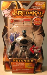 Redakai 4 inch figure Metanoid (chest led) Spin Master, Redakai, Action Figures, 2011, scifi, game
