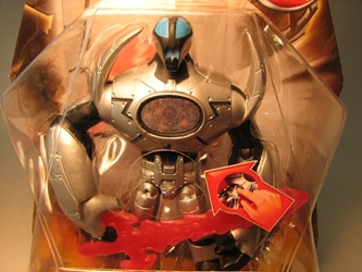 Redakai 4 inch figure Metanoid (chest holo) Spin Master, Redakai, Action Figures, 2011, scifi, game