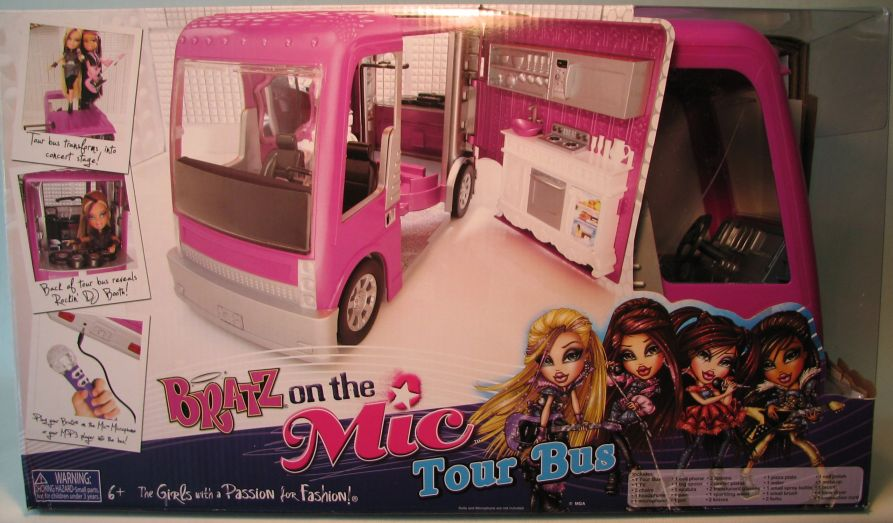 Bratz on the Mic Tour Bus MGA, Bratz, Dolls, 2011, fashion, toy