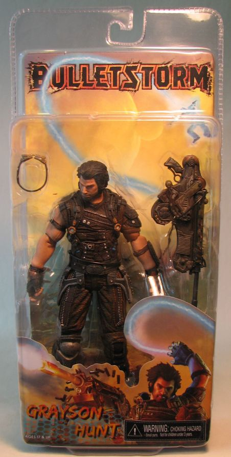 Bulletstorm Grayson Hunt 7 inch figure NECA NECA, Bulletstorm, Action Figures, 2010, military, video game