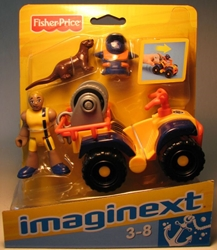 Fisher-Price Imaginext - Lifeguard & Dune ATV Fisher-Price, Imaginext, Preschool, 2008, adventure