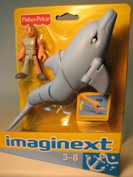 Fisher-Price Imaginext - Marine Biologist & Dolphin Fisher-Price, Imaginext, Preschool, 2008, adventure