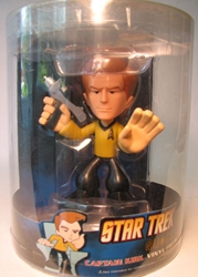 Funko Star Trek Captain Kirk 5 inch vinyl Quogs fig Funko, Star Trek, Bobble-Heads, 2009, scifi, tv show, movie