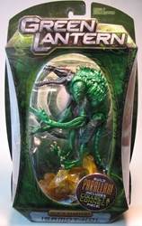 Green Lantern Movie Masters Isamot Kol Mattel, Green Lantern, Action Figures, 2011, scifi, movie
