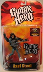 Guitar Hero Axel Steel 5 inch figure McFarlane, Guitar Hero, Action Figures, 2007, rock, video game