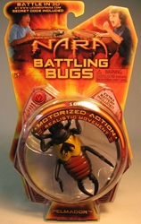 Legend of Nara Mororized 2 inch Bugs - Pelmador MGA, Legend of Nara, Action Figures, 2010, robots