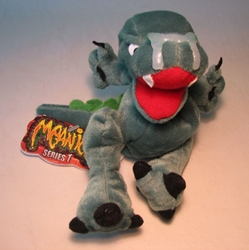 Meanies Series 1 Boris the Mucousaurus The Idea Factory, Meanies, Plush, 1997, horror, halloween