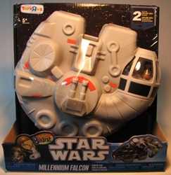 Mighty Beanz Star Wars Millennium Falcon Case + 2 beanz Spin Master, Mighty Beanz, Action Figures, 2010, scifi, movie