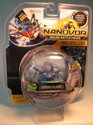 Nanovor Online Battle Battle Figure Doom Blade Smith & Tinker, Nanovor, Action Figures, 2009, robots, online site