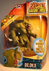 Secret Saturdays - Cryptid Biloko (humanoid) Mattel, Secret Saturdays, Action Figures, 2009, adventure, fantasy, tv show
