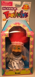 Trollkins 5 inch Bride 1998  The Original San Francisco Toymakers, Trollkins, Action Figures, 1998, fantasy, animated