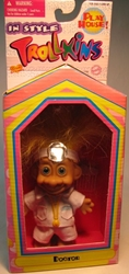 Trollkins 5 inch Doctor 1998  The Original San Francisco Toymakers, Trollkins, Action Figures, 1998, fantasy, animated