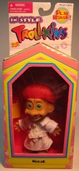 Trollkins 5 inch Nurse 1998  The Original San Francisco Toymakers, Trollkins, Action Figures, 1998, fantasy, animated
