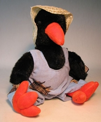 Ty Attic Treasure - Cawley (crow) Ty, Attic Treasure, Plush, 1993, cute animals