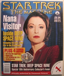Star Trek Magazine April 2003 Nana Visitor Paramount, Star Trek, Magazines, 2003, scifi, tv show, movie