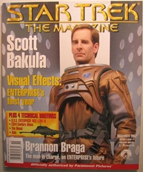 Star Trek Magazine November 2002 Scott Bakula Paramount, Star Trek, Magazines, 2002, scifi, tv show, movie