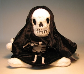 Ty Beanie Baby - Creepers (skeleton)