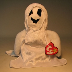 Ty Beanie Baby - Sheets (ghost) Ty, Beanie Baby, Plush, 1999, cute animals